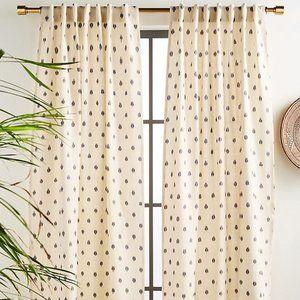 NEW Anthropologie Peyton Ikat Curtain Panel Boho